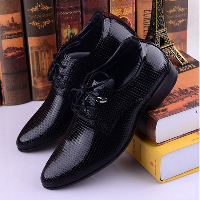 Jack Willden Italian Style Casual Derby Leather Shoes