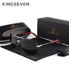 KINGSEVEN Aluminum Magnesium Polarized Coating Mirror Glasses Male Eye wear