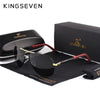 KINGSEVEN Aluminum HD Polarized Classic Coating Lens Driving Shades Men/Women