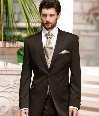 Latest Design Groomsmen Groom Tuxedos Coat (Jacket+Pants) Wedding Party Suits