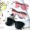 MS Rimless Designer Luxury Decoration Sunglasses Eye wear UV400