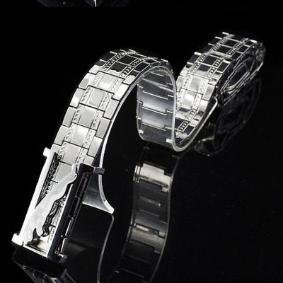 Metal Stainless Steel Smooth Buckle Chain Waist Luxury Quality Designer Belts