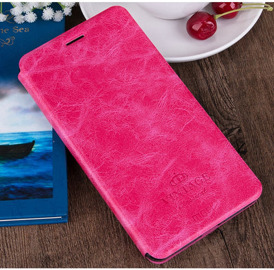 Mofi Case For Xiaomi Redmi 4X 3S Case Flip Book Style Kickstand For Redmi 5 5A 5 Plus For Redmi Note 5 Note 5A Phone Cases