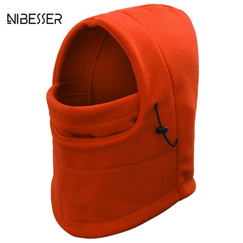 4eaa9be3ed7 NIBESSER Men Women Winter Warm Bomber Scarf Aviator Trooper Earflap Ski Cap