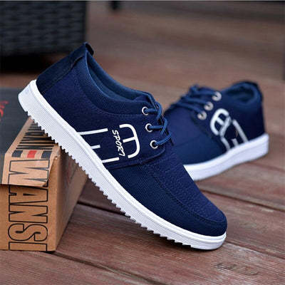Breathable movement casual skid canvas shoes men's wild tide Sneakers shoes
