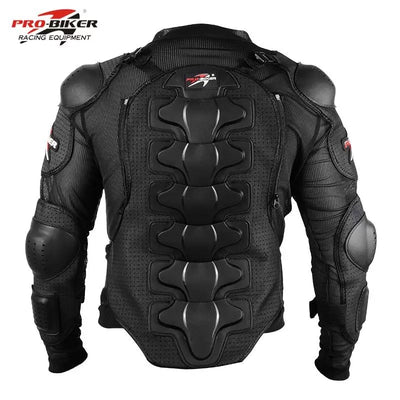 Pro-Biker protective armor gear Jacket Full Body Armor cloth Motocross Turtle back protection Motorcycle Jackets