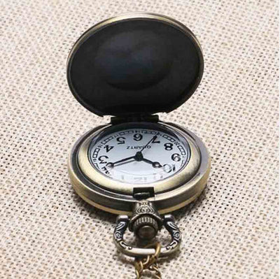 Qiyufang vintage free Mason Freemason Illuminati pendant Pocket Watch Satanism chain1pcs/lot