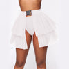 Fashion Ruffle Mini Skirt SKU: #CF36047-1