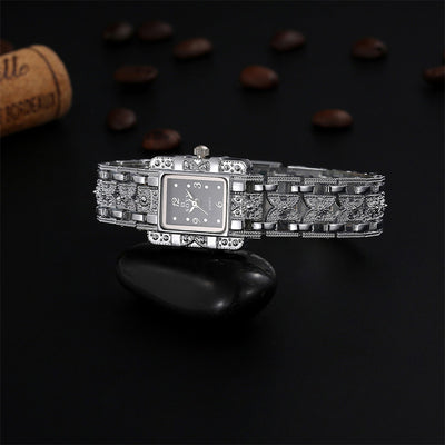 SOXY Luxury Brand Fashion Silver Bracelet Quartz Dress Ladies Watches