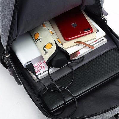 SUUTOOP multifunctional oxford casual laptop backpack usb charge waterproof travel bags