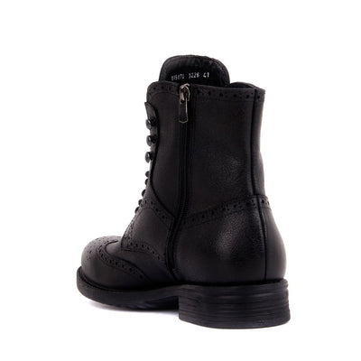 Sail-Lakers Black Men Leather Boots
