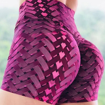 Sexy Yoga Sports Wear Skinny Push Up Gym Clothing Solid Color Elastic Breathable Flex shorts