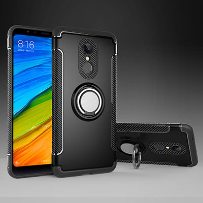 Shockproof Case for Xiaomi RedMi 5 Plus Note 5A 4X 4A XiaoMi MiA1 Mi6 Mix2 Car Holder Stand Magnetic Bracket