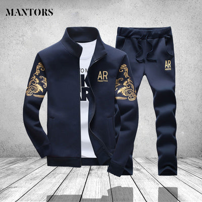 Sportswear Autumn Sweat pant Long Sleeved Casual Jacket and Pants Sportswear