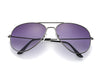 TOYEARN Vintage Classic Designer Pilot Women/Men Driving UV400 Mirror Sunglasses