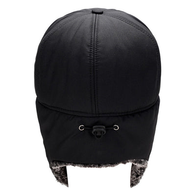 Winter Hats Men/Women Balaclava Cotton Fur Earflap Russian Skull Mask Bomber Hats