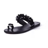 Flip Flops Summer Fashion Rhinestone Wedges Slides Crystal Beautiful Lady Casual Shoes