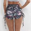 Yoga Sport Running Leggings Camo Stretch Trouser Fitness Clothes Jogging Workout Shorts