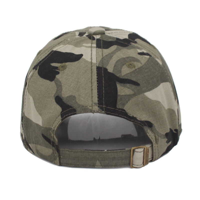 YOUBOME Camouflage Army Snapback Women  Men Vintage US Flag Bone Dad Hat  Caps 7f6096b9e62