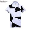 Summer Turn-down Collar Slim Fit Short Sleeve Cotton Brand-Clothing Casual Shirt