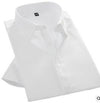 Slim Fit Dress Shirts Short Sleeve Business Shirts