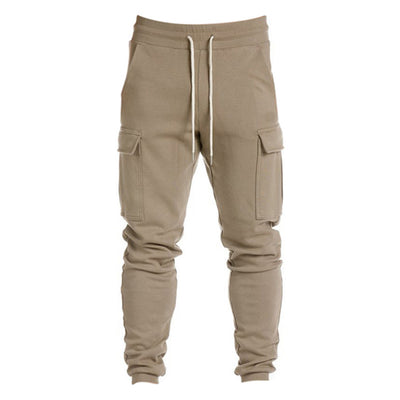 Solid Harem Pants Men Cotton Army Camouflage Military Gyms Sweatpants