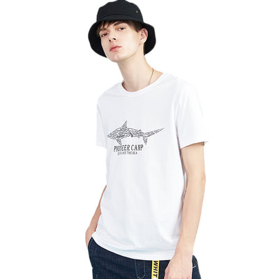 Pioneer Camp summer short cotton comfortable print t-shirt