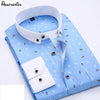 Long Sleeve Designer High Quality Solid Non Iron Slim Fit Shirts