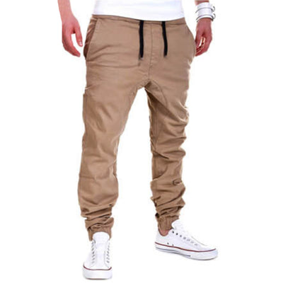 Harem Joggers Drawstring Pockets Sweatpants Casual Long Trousers