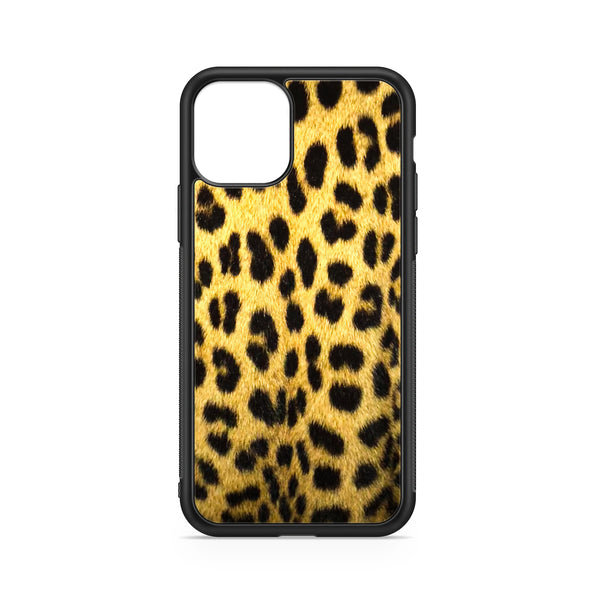 COVER ANIMALIER LEOPARDO GIALLO
