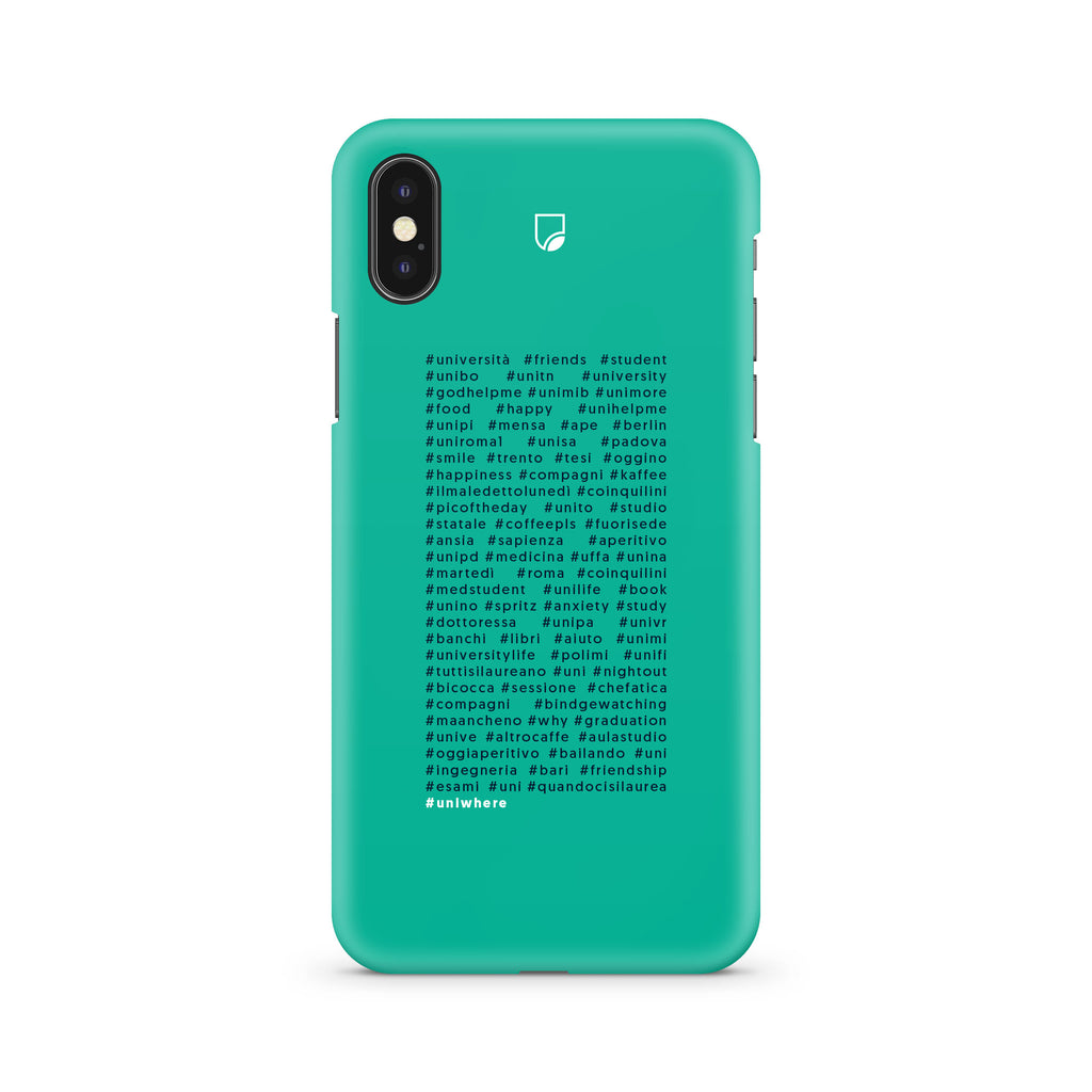 COVER UNIWHERE 60 HASTAGS  SFONDO VERDE - ONECOVER