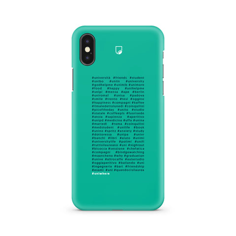 COVER UNIWHERE 60 HASTAGS  SFONDO VERDE