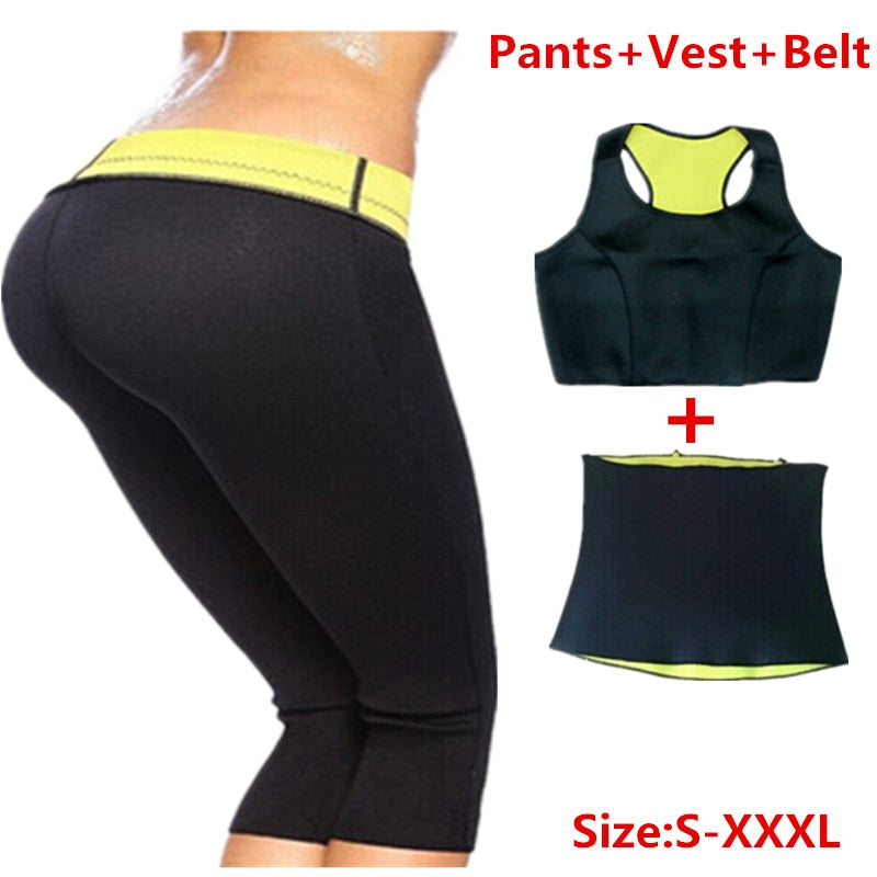 Sudation kit Pantalon Ceinture Veste Hot Shapers