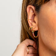 Pendientes Colors gold