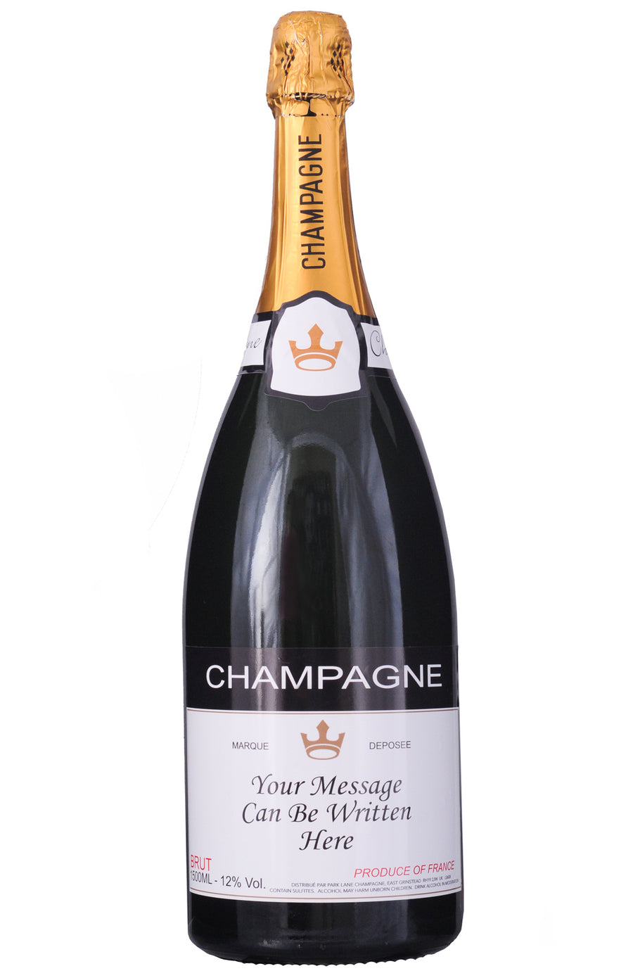 Personalised Champagne Magnum (1500 ml)