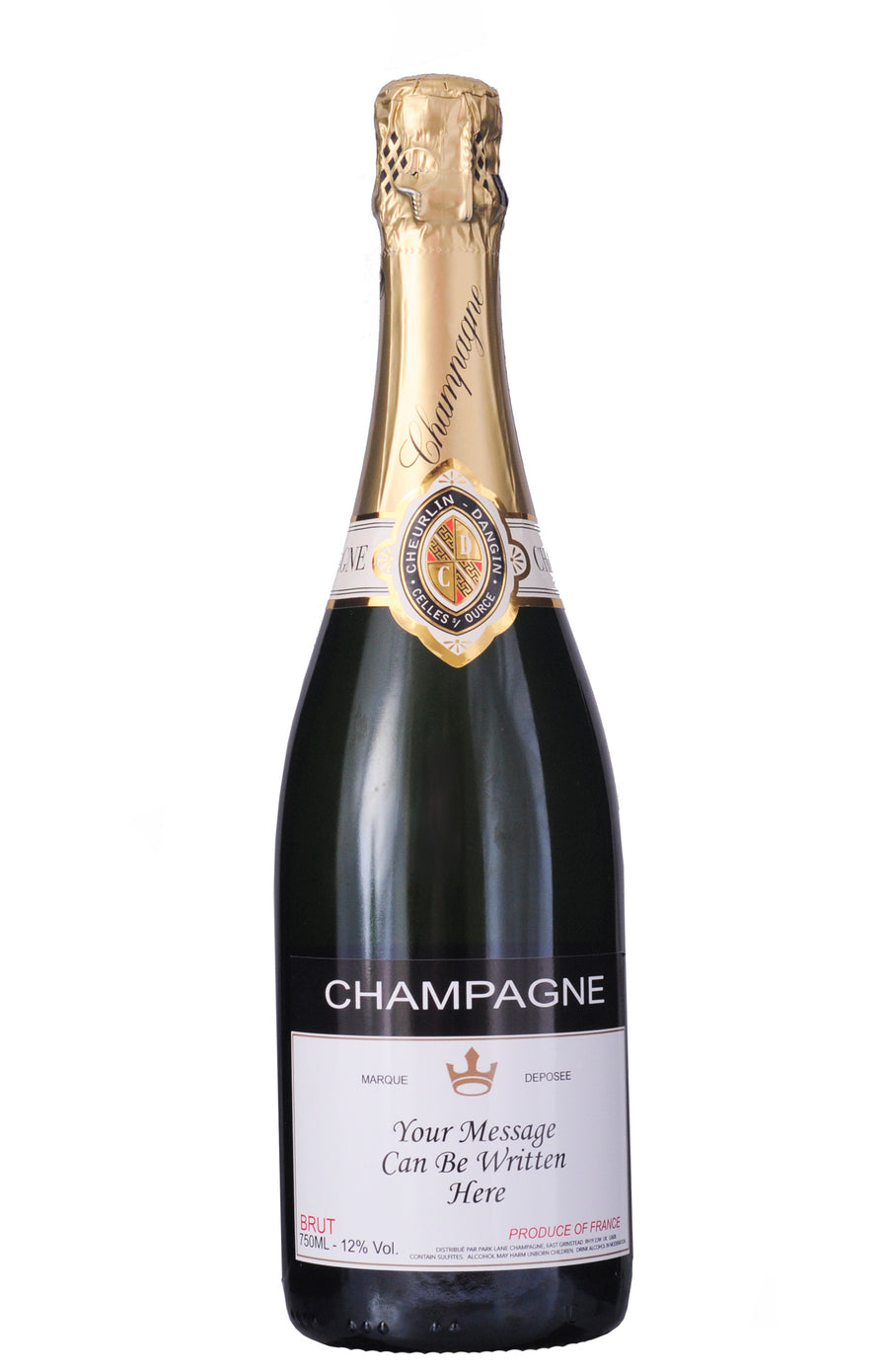 Personalised Champagne (750 ml)