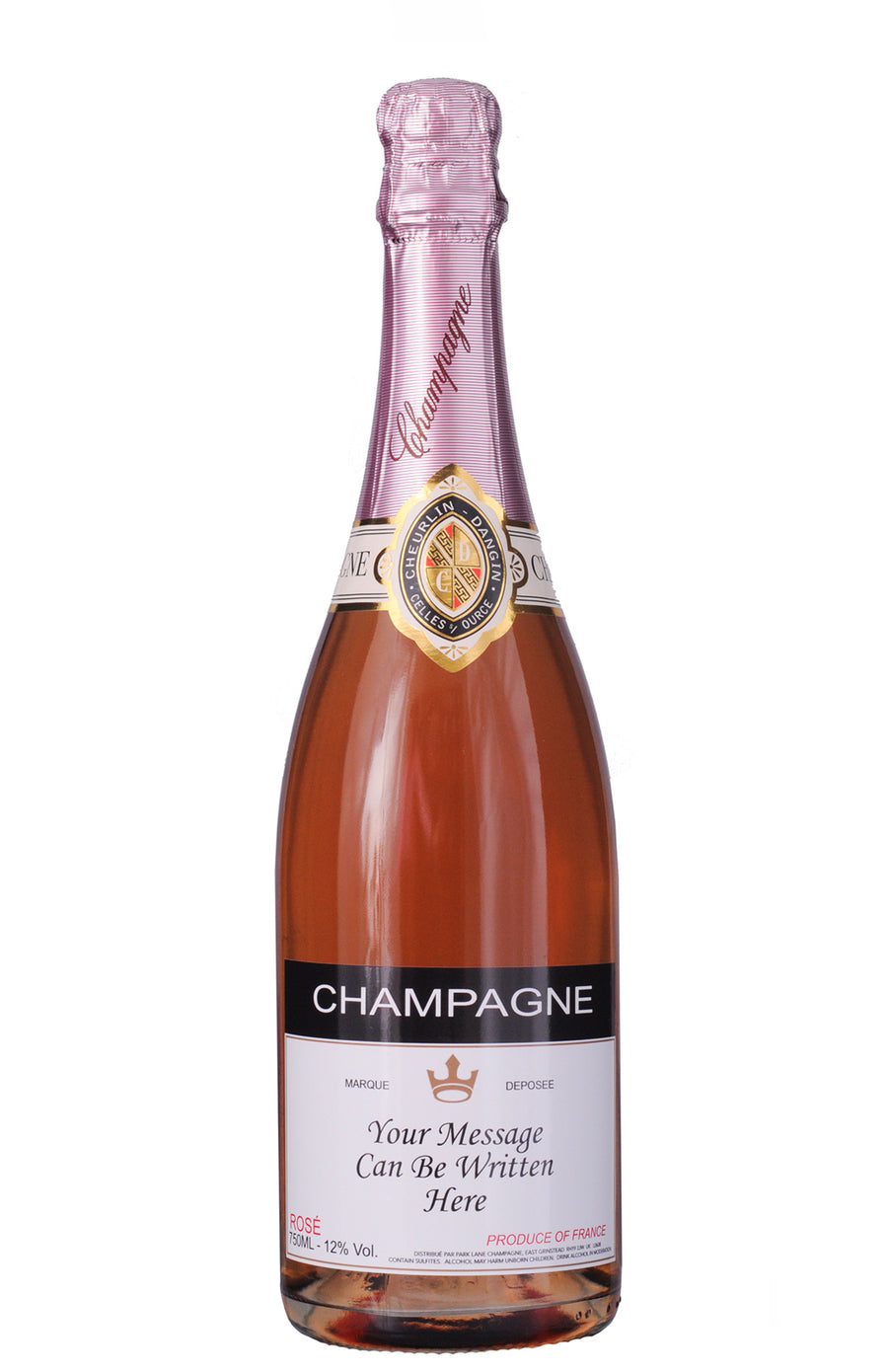 Personalised Rosé Champagne (750 ml)