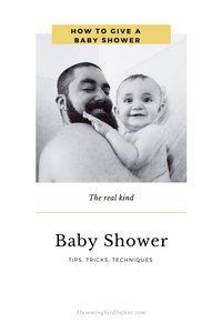 How to Shower With Your Baby