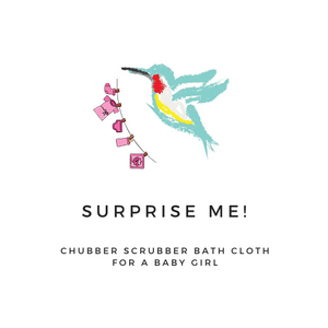 Chubber Scrubber™ Bath Cloth (Individual 1-Pack)