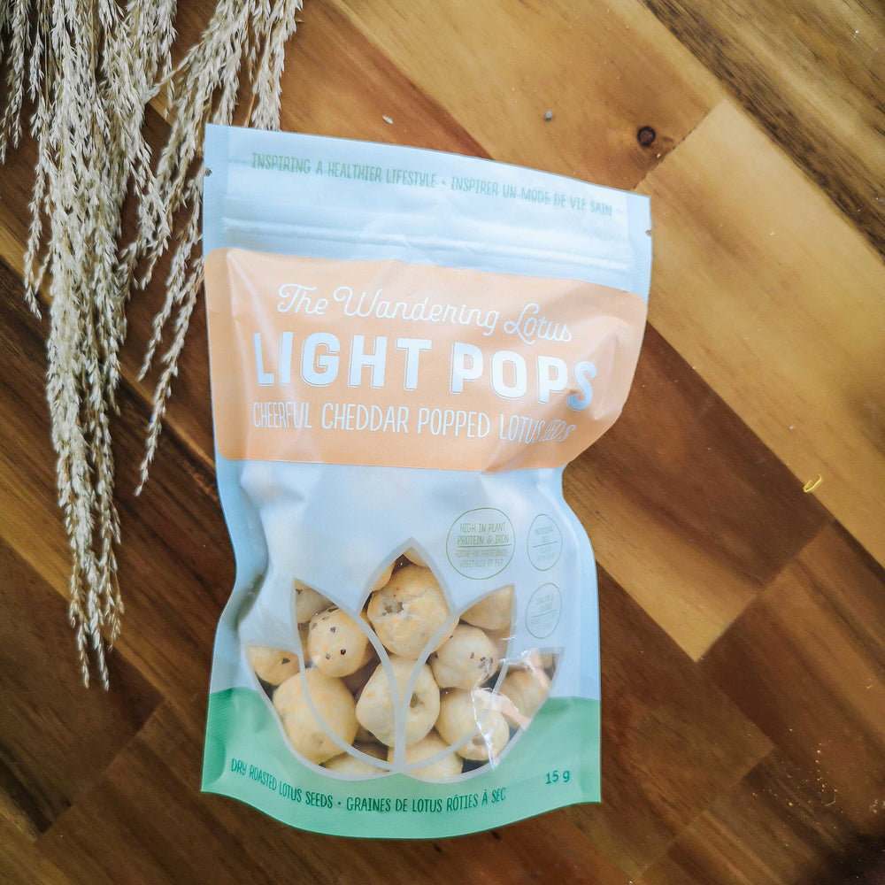 3 Pack- The Wandering Lotus Light Pops, Cheddar Flavour