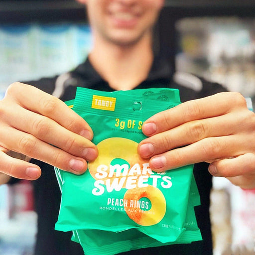 5 Pack - Smart Sweets: Peach Rings Pouch