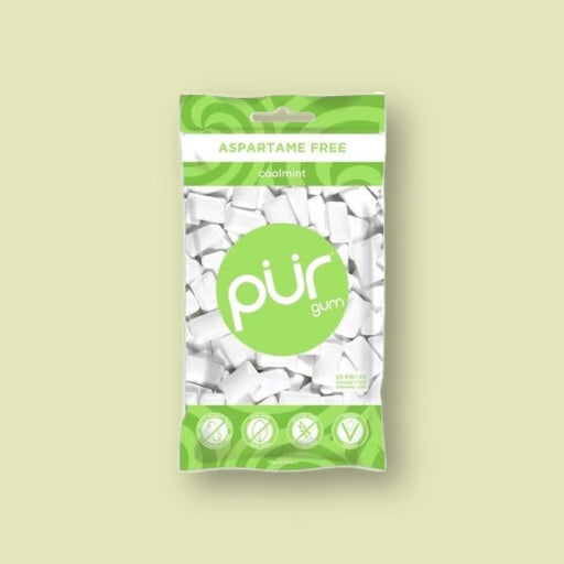 2 Pack - Pur Sugar Free Coolmint 55pc bag