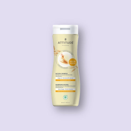 Attitude Repair & Colour Protection Shampoo - Argan, 473 ml