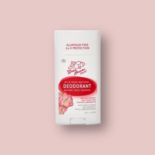 Green Beaver Nautral Deodorant Stick - Wild Rose