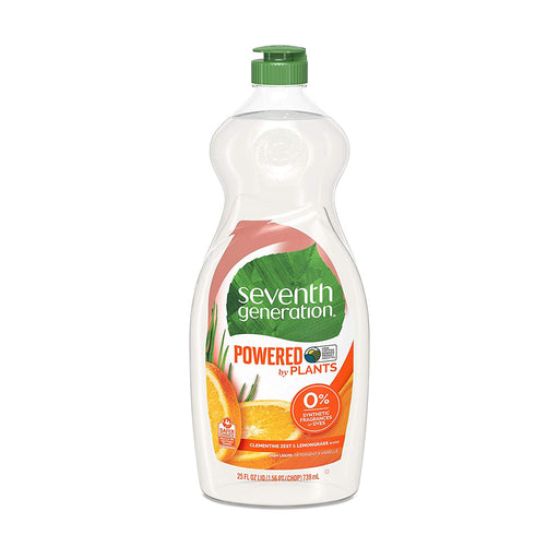 Seventh Generation Natural Dish Soap Liquid (Pack of 2) - 739ml