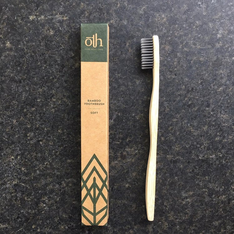 ōTH Pure Body Care -Adult Bamboo Toothbrush