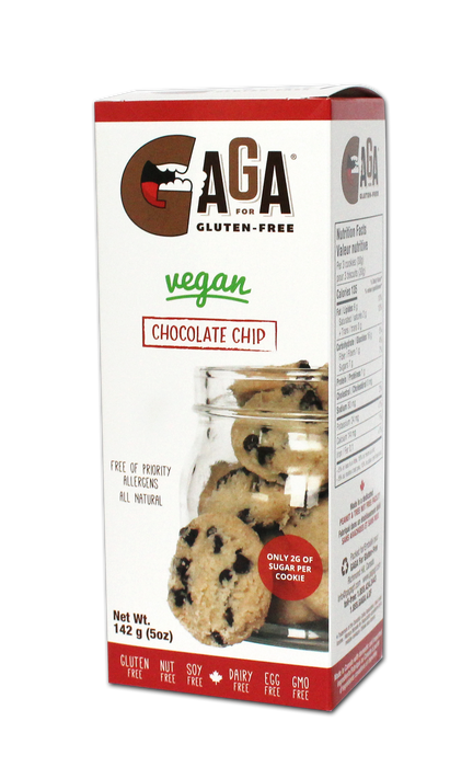 2 pack- GaGa For Gluten-Free Chocolate Chip Cookies