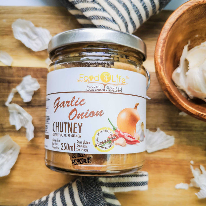 Food 4 Life: Garlic Onion Chutney - 250ml