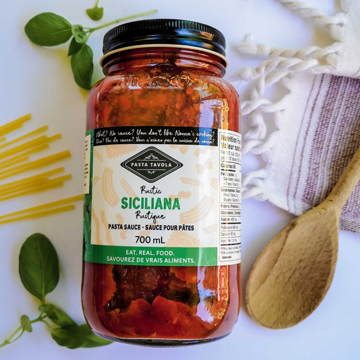Pasta Tavola Rustic Siciliana with Sundried Tomatoes 700ml
