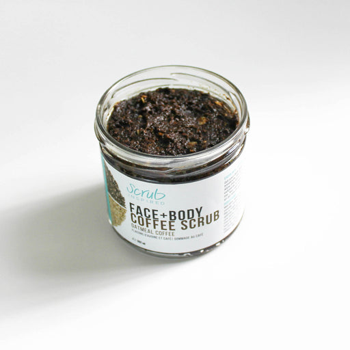 Scrub Inspired -Oatmeal Coffee Face+Body Scrub